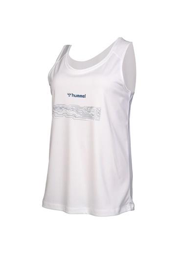 Hummel Kadın Atlet Elvi 910858-9003 Beyaz